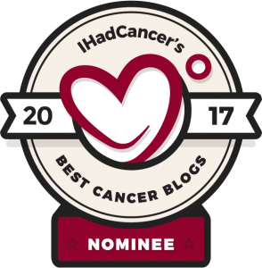 IHadCancer.com Best Blog Nominee 2017